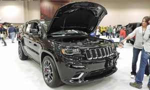 Twin Cities Auto Show: Twin Cities Auto Show for Two or Four on March 12–20 (Up to 54% Off)