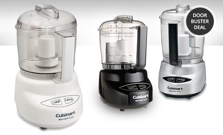 Cuisinart 4-Cup Mini-Prep Plus Food Processor (Multiple Colors Available) now $29.99 (was $90)
