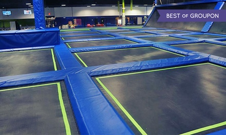 Trampoline Fun-Center Package or Birthday-Party Package at Off The Wall Trampoline Fun Center (Up to 50% Off)