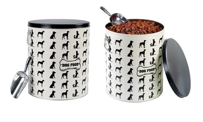Pet Store Dog Treat and Food Storage: Pet Store Treat or Dog Food Tin (Up to 67% Off). Free Shipping on Purchases of $15 or More. Free Returns.