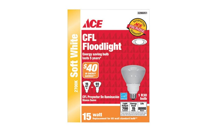 Gordon's Ace Hardware - In-Store Pickup: $5 for a 10-Pack of CFL Light Bulbs with In-Store Pickup at Gordon's Ace Hardware  ($79.90 Value)