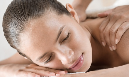 60-Minute Hot Stone or Swedish Massage at Rachel Sylvester@Cyan Beauty (Up to 54% Off)