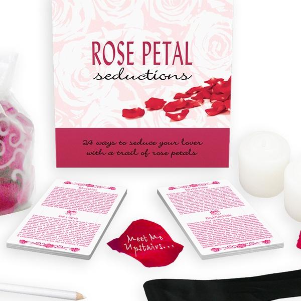 Rose Petal Seductions Adult Lover Romantic Seduction Fun Game Cards Candles Dice