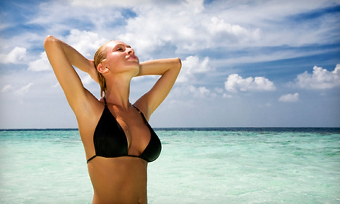Sun City Tan - Fresno: One, Three, or Five Airbrush Tans at Sun City Tan (Up to 54% Off)