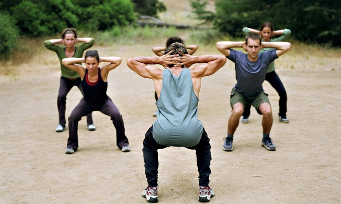 Baskerville Fitness - Multiple Locations: Four Weeks of Unlimited Boot-Camp Classes at Baskerville Fitness (66% Off)