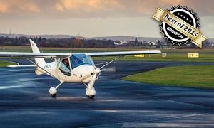 Pied Piper Air: 30 Minuten selber fliegen in Bonn-Hangelar inkl. Anleitung, Einweisung und Foto mit Pied Piper Air (60% sparen*)