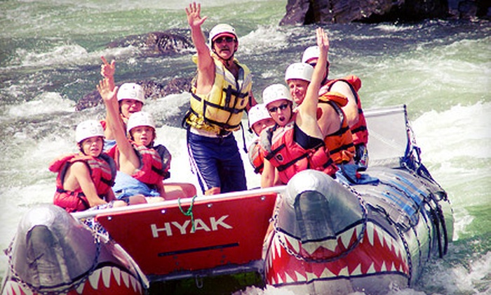 Hyak River Rafting - Hyak River Rafting: Thompson River Afternoon Power-Rafting Trip for One, Two, Four, or Eight from Hyak River Rafting (Up to 54% Off)