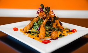Breeze: Thai-French Fusion Dinner for Two or Four at Breeze (Up to 50% Off)