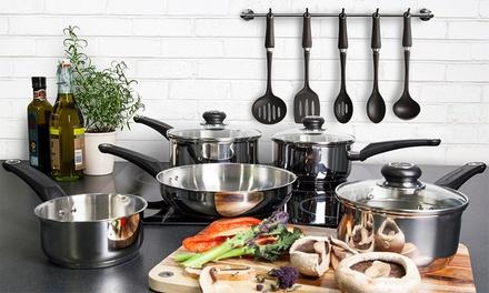 Morphy richards 10 pc kitchen set groupon goods for Kitchen set groupon