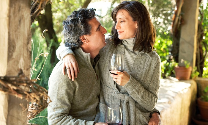 Passion Cellars - Multiple Locations: Couples Wine-Tasting Package or Double-Date Retreat Package for Four at Passion Cellars (Up to 51% Off)