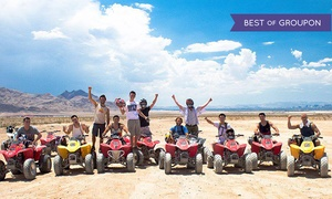 Las Vegas ATV Tours: Two- or Four-Hour Nellis Dunes ATV Tour for One from Las Vegas ATV Tours (Up to 61% Off)