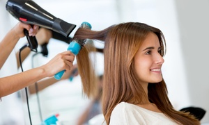 Shear Designs Salon: One or Two Blowouts with Deep-Conditioning Treatments at Shear Designs Salon (Up to 68% Off)