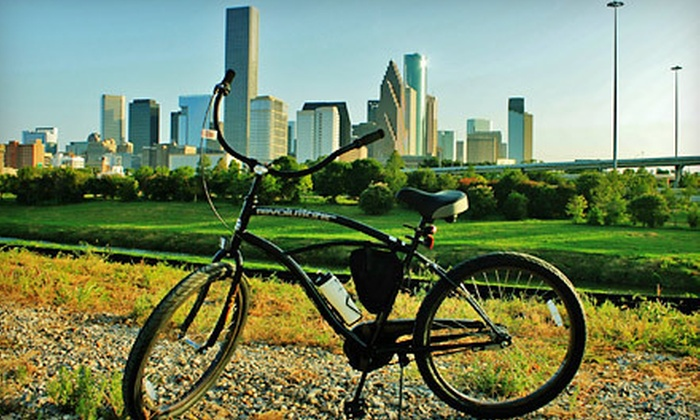 Bayou City Bike Tours - Greater Heights: Three-Hour City Bike Tour for Two, Four, or Six from Bayou City Bike Tours (Half Off)