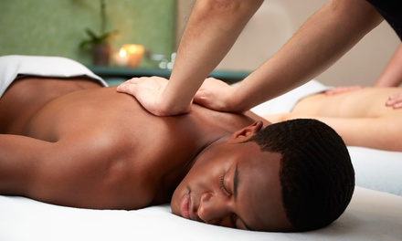 Three Massages, One Couple's Massage, or $50 Gift Card at Just Because...Massage Therapy (Up to 50% Off)