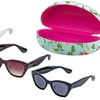 Laura Ashley Women's Oversized Cat-Eye Sunglasses