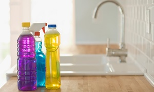 J & E Cleaning Services: $76 for Three Hours of House Cleaning from J & E Cleaning Services ($180 Value)