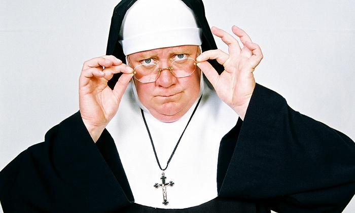"""Sister's Easter Catechism: Will My Bunny Go to Heaven? - City Theatre: """"Sister's Easter Catechism: Will My Bunny Go To Heaven?"""" at City Theatre on March 19–22 (Up to 34% Off)"""