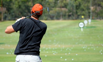image for Lincoln Golf Centre: 18 Holes and 90 Range Balls For Two or Four from £13.50 (Up to 61% Off)