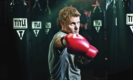 $17 for Two Weeks of Unlimited Boxing and Kickboxing Classes at Title Boxing Club ($50 Value)