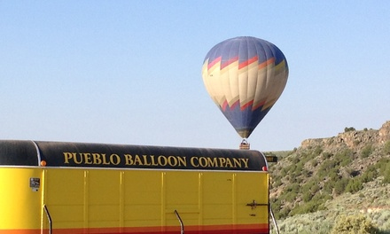 Hot Air Balloon Ride for One or Two with Champagne from Pueblo Balloon (Up to 24% Off)