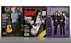 1-Year Subscription to Guitar Magazines