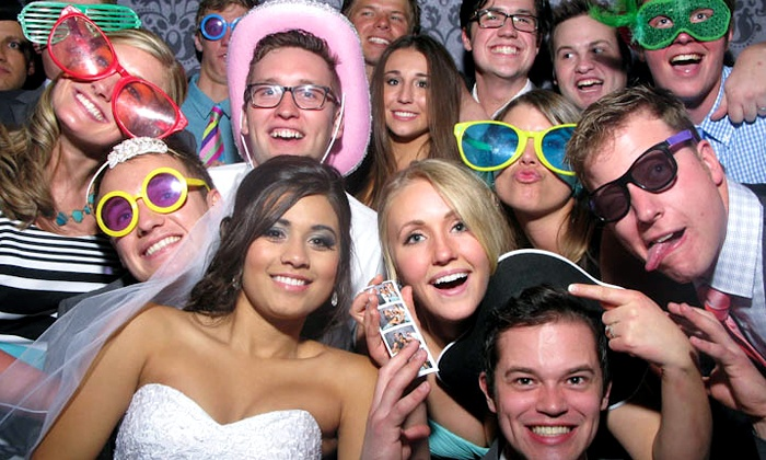 The Photo Booth Group - Dallas: Two-, Three-, or Four Hour Photo-Booth Rental from The Photo Booth Group (Up to 60% Off)