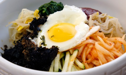 $15 for $30 Worth of Korean Food and Drinks at Yeowoosai