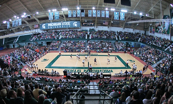 Michigan State University Women's Volleyball - Michigan State University: $8 for a Michigan State Women's Volleyball Game for Two at Jenison Field House on Friday, October 4 ($16 Value)