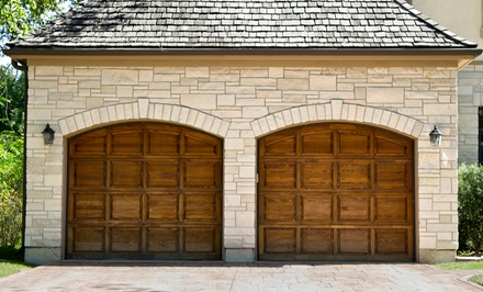 Garage-Door Tune-Up and Inspection with Optional Roller Replacement from Garage Door Service Co. (Up to 68% Off)