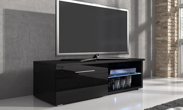 Meuble tv samuel groupon shopping - Meuble tv grande taille ...