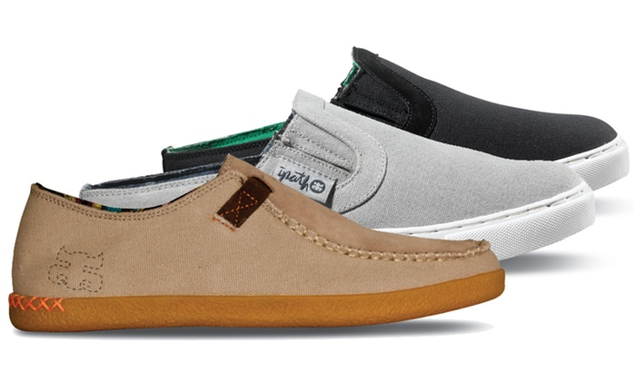 Ipath Men's Slip-On Canvas Shoes: Ipath Bonfired or Slippuh Men's Slip-On Canvas Shoes. Multiple Colors Available.