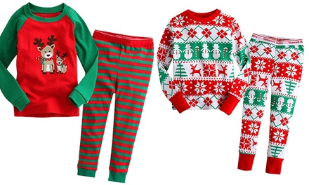 Kids' Christmas Pyjama from AED 59 (Up to 77% Off)