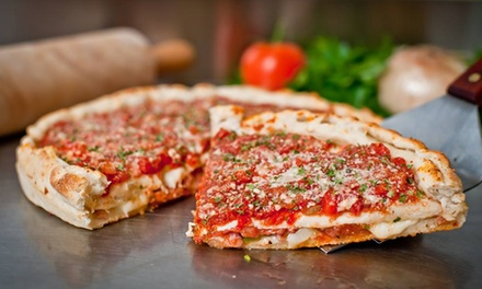 $11 for $20 Worth of Subs, Pizza, and Pasta for Pickup at Yellow Box Gourmet Pizza and Subs