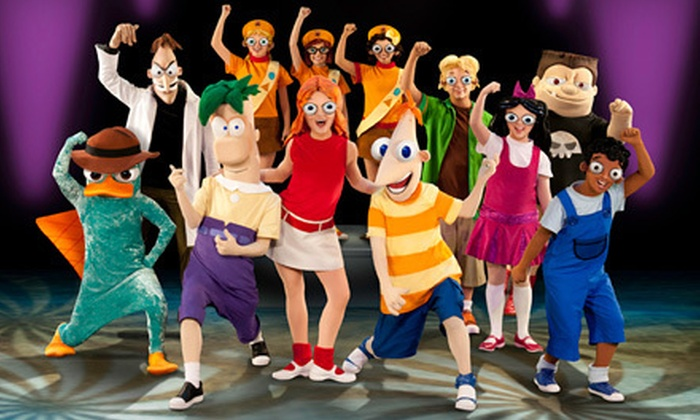 """Disney's Phineas and Ferb Live: The Best Live Tour Ever! - Downtown Phoenix: """"Disney's Phineas and Ferb: The Best LIVE Tour Ever!"""" at US Airways Center (Up to $39.25 Value). Six Options Available."""