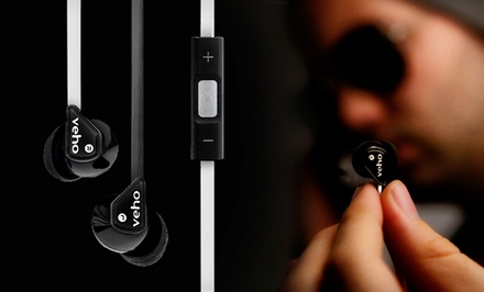 Veho 360 Z-2 Earbuds with Built-in Microphone
