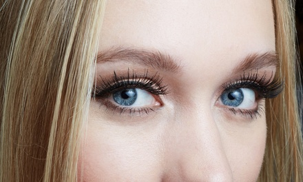Semi-Permanent Eyelash Extensions or Eyelash Lift with Brow Shape, Wax and Tint at True Beauty by Cara (Up to 46% Off)