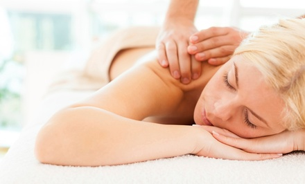 One or three 60-Minute Massages with Chiropractic Exam and Consultation (Up to 80% Off)