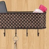 Home Basics Wall Mount Mail and Key Rack
