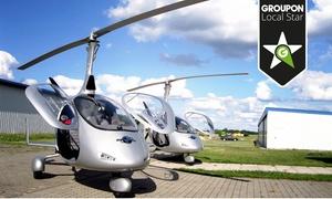 """Helicopter Fly: Foto-Rundflug über Rotenburg, Raum Bremen oder Hamburg oder """"Pilot für 1 Tag"""" mit Helicopter-Fly ab 99 €"""