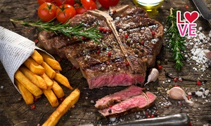 Retrò Steakhouse: Menu di carne a Km 0 con calice di vino da Retrò Steakhouse (sconto fino a 72%)