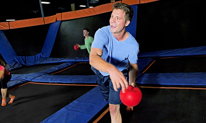 Sky Zone - Dayton - Dayton: $16 for Two One-Hour Open-Jump Passes at Sky Zone - Dayton ($28 Value)