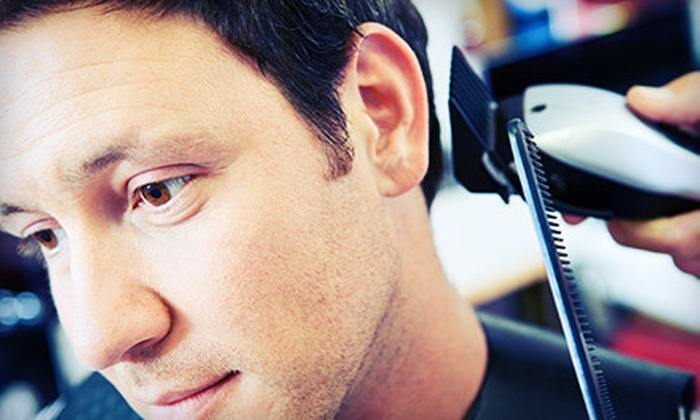 Hair In Your Face - University Park: Men's Haircut or Signature Grooming Package at Hair In Your Face (Up to 60% Off)