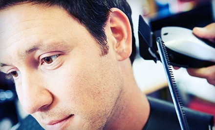 Dallas: Men's Haircut or Signature Grooming Package at Hair In Your Face (Up to 60% Off)