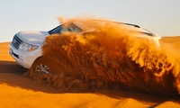Desert Safari, Sand Boarding, and Camel Riding Experience for Up to Four People at Payless Tourism (Up to 57% Off)