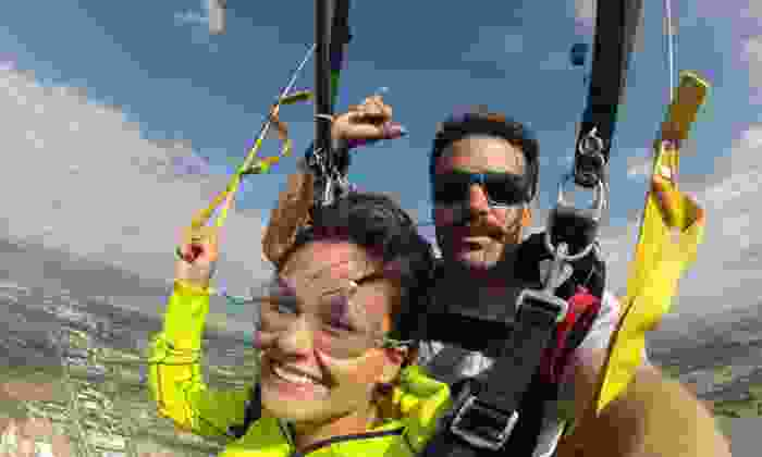 Independent Skydive Company - Glenwood: Tandem Skydive Jump for One or Two People from Independent Skydive Company (Up to 40% Off)