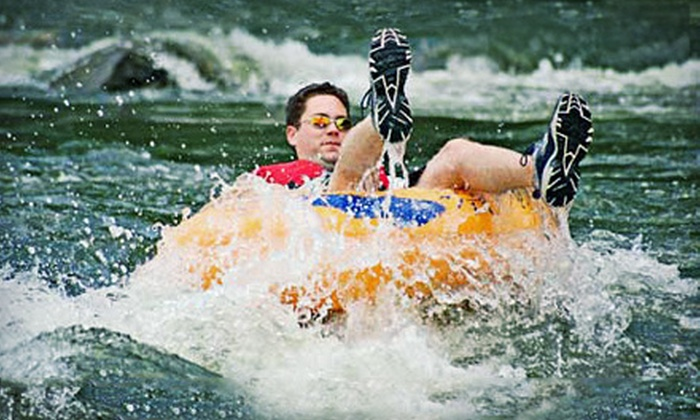 River & Trail Outfitters - Redland: Whitewater-Tubing and Biking Adventure for One, Two, or Four from River & Trail Outfitters (Up to 56% Off)