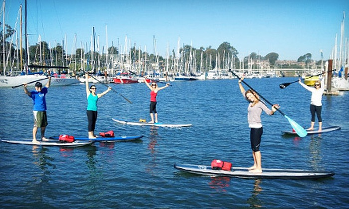 SUP Shack - Santa Cruz Harbor: Two-Hour Standup-Paddleboard Rental, Lesson for One, or Sightseeing Tour for Two from SUP Shack (Up to 55% Off)