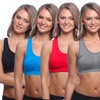 6-Pack of Seamless Sports Bras