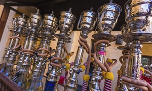 "Sky View Hookah Lounge: $19 for One Hookah and One 16"" Pizza at Sky View Hookah Lounge ($41 Value)"