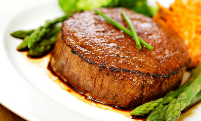 CY Steak - CY Steak: $75 for a Five-Course Steakhouse Dinner and Cabaret Show for Two at CY Steak ($150 Value)